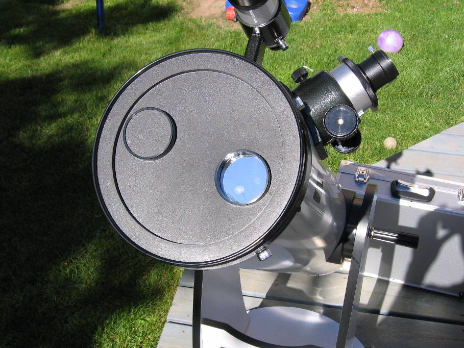 the budget astronomer - solar filter